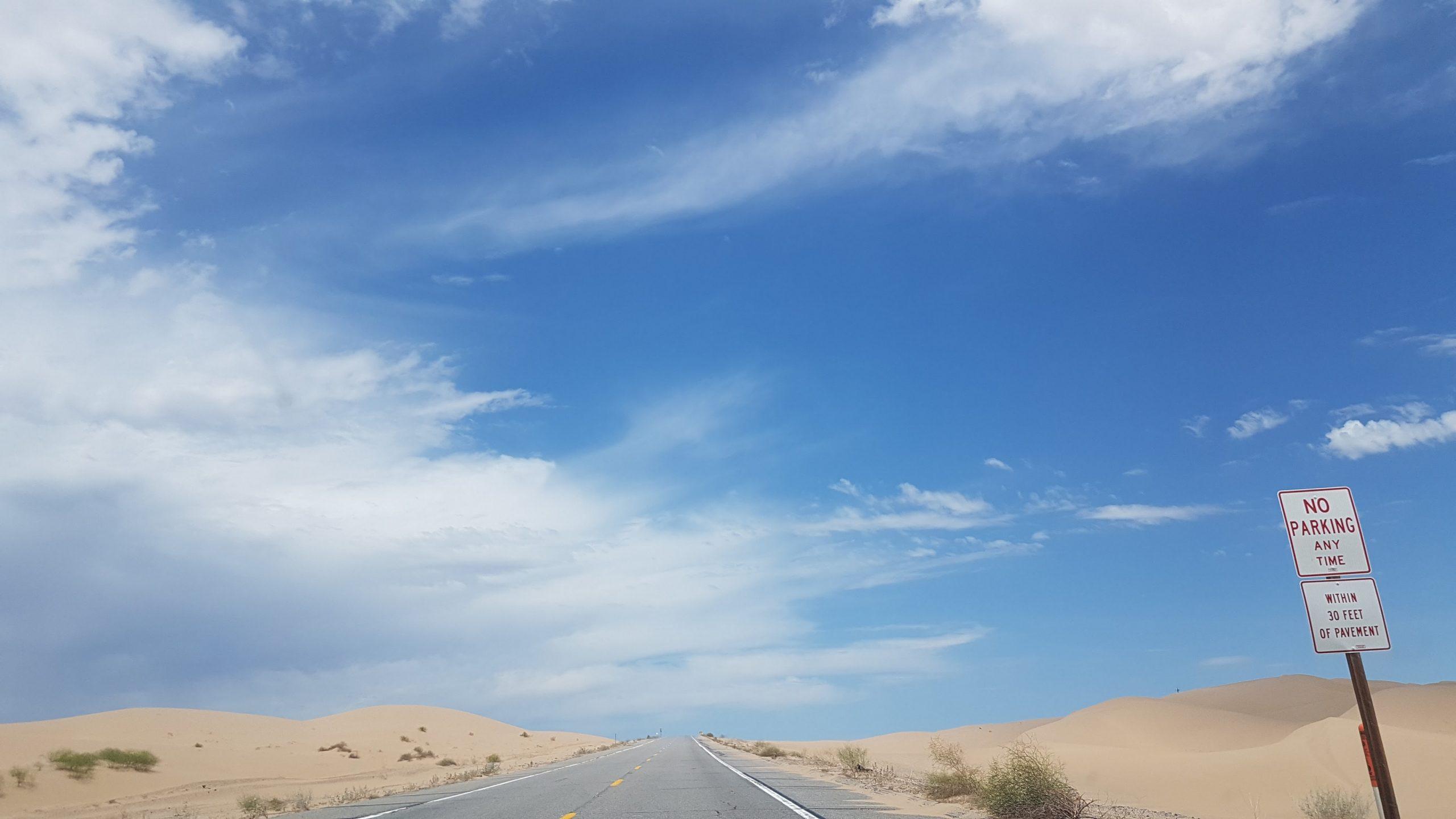 Imperial Sand Dunes, Juli 2017.