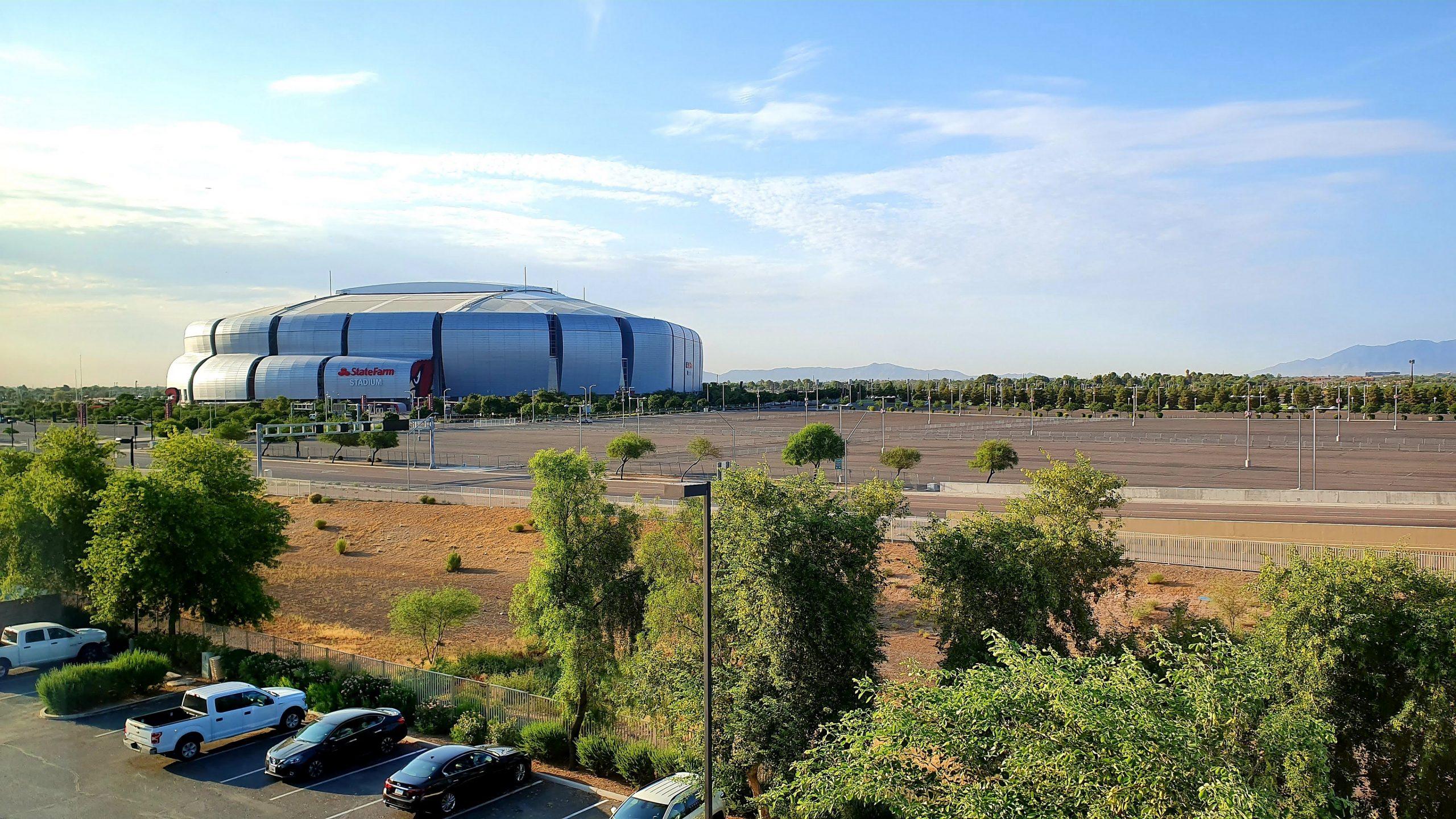 State Farm Stadium.